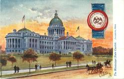 THE MISSISSIPPI STATE CAPITOL, JACKSON, MISS.