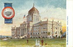 THE MONTANA STATE CAPITOL, HELENA, MONT.