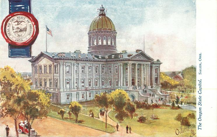 THE OREGON STATE CAPITOL, SALEM, ORE.