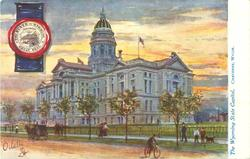 THE WYOMING STATE CAPITOL, CHEYENNE, WYOM.