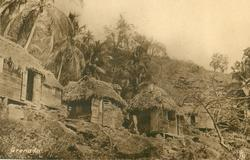 GRENADA  shacks on hillside