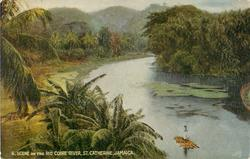 SCENE ON THE RIO COBRE RIVER, ST. CATHERINE