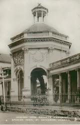 ADMIRAL LORD ROMNEY'S MONUMENT, SPANISH TOWN, ST. CATHERINE