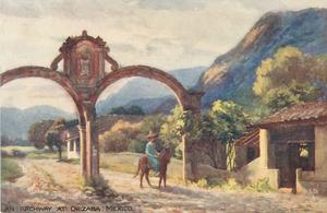 AN ARCHWAY AT ORIZABA