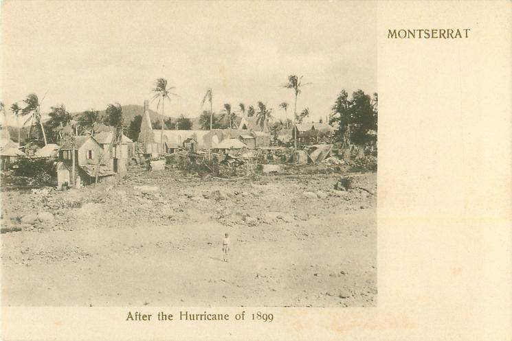 AFTER THE HURRICANE OF 1899
