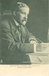 THE RIGHT HON SIR ROBERT BOND K.C.M.G.P.C.  PREMIER OF NEWFOUNDLAND