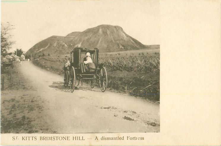 BRIMSTONE HILL - A DISMANTLED FORTRESS