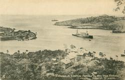 ENTRANCE TO CASTRIES HARBOUR AS SEEN FROM VICTORIA HOSPITAL