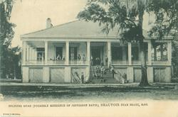SOLDIERS HOME (FORMERLY RESIDENCE OF JEFFERSON DAVIS), BEAUVOIR NEAR BILOXI, MISS.