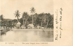 THE PALM FRINGED SHORE LABORIE