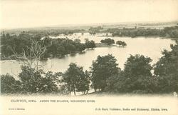 AMONG THE ISLANDS, MISSISSIPPI RIVER