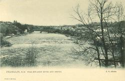 PEMIGEWASSET RIVER AND BRIDGE