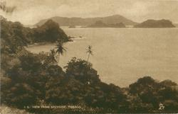 VIEW FROM SPEYSIDE, TOBAGO