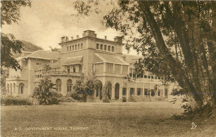 GOVERNMENT HOUSE, TRINIDAD