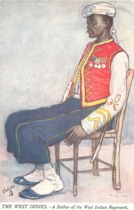 A SOLDIER OF THE WEST INDIAN REGIMENT