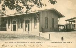 WEST JERSEY AND SEASHORE RAILROAD STATION