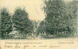 FOUNTAIN PARK, PARK SQUARE
