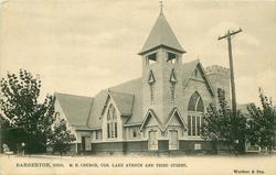 M.E. CHURCH, COR. LAKE AVENUE AND THIRD STREET