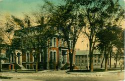 POST OFFICE AND CUSTOM HOUSE, AND R.C.R. OFFICERS QUARTERS