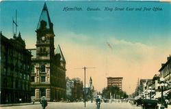 KING STREET EAST AND POST OFFICE
