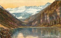 LAKE LOUISE AND VICTORIA GLACIER