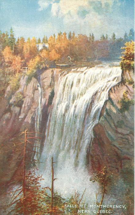FALLS OF MONTMORENCY, NEAR QUEBEC