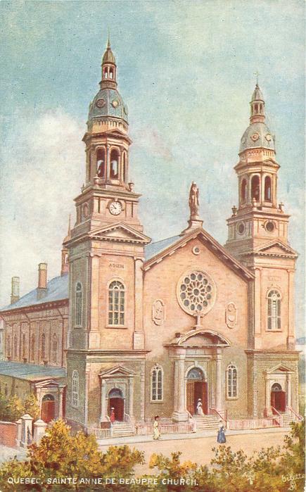 SAINTE ANNE DE BEAUPRE CHURCH
