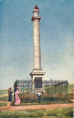 THE WOLFE MONUMENT