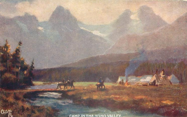 CAMP IN THE YOHO VALLEY