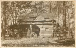 THE LOG CABIN, CUTTER PIONEER GROVE