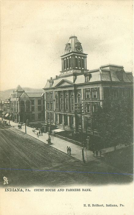 COURT HOUSE AND FARMERS BANK