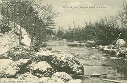 WILLOW RIVER IN WINTER