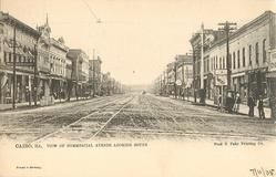 VIEW OF COMMERCIAL AVENUE LOOKING SOUTH
