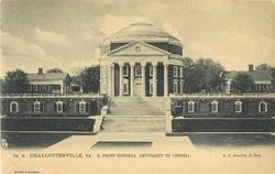 NO. 2. N. FRONT ROTUNDA, UNIVERSITY OF VIRGINIA