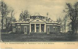 "NO. 3. ""MONTICELLO"" - HOME OF THOS JEFFERSON  no statues"