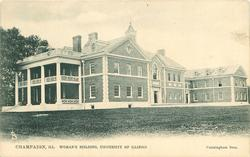 WOMAN'S BUILDING, UNIVERSITY OF ILLINOIS