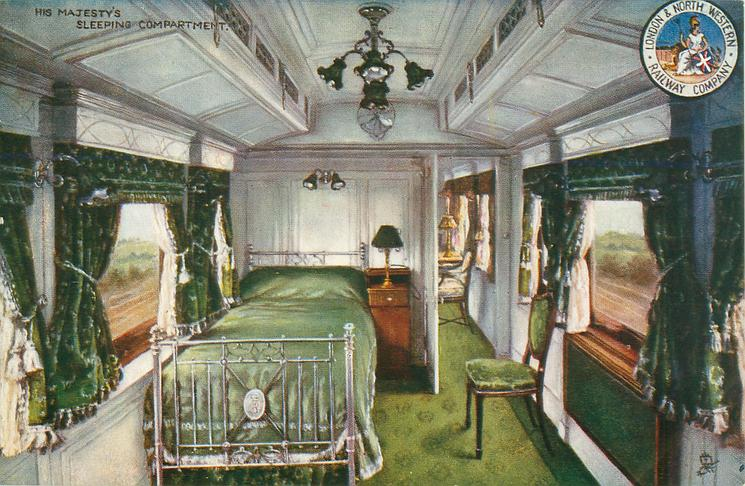 HER MAJESTY'S SLEEPING COMPARTMENT