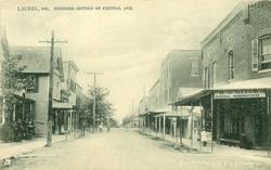 BUSINESS SECTION OF CENTRAL AVE.