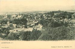 ASHEVILLE, N.C.  bird's-eye view