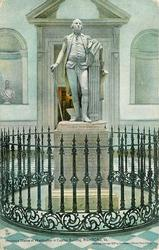HOUDON'S STATUE OF WASHINGTON IN CAPITOL BUILDING, RICHMOND, VA.