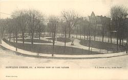 A WINTER VIEW OF PARK SQUARE