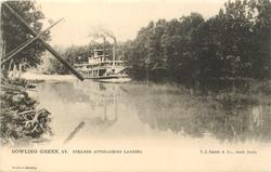STEAMER APPROACHING LANDING