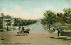 HIGHLAND AVENUE, EAST FROM 20TH STREET