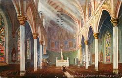 INTERIOR OF ST. PAUL'S CHURCH