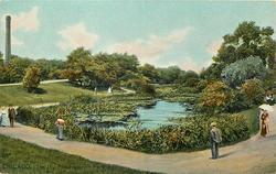 THE LILY POND - LINCOLN PARK