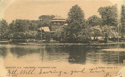 LAKE HOUSE - WASHINGTON PARK