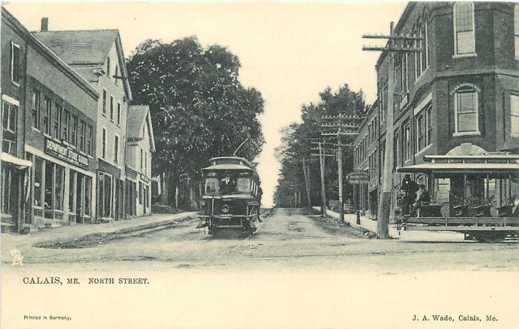 NORTH STREET  tram