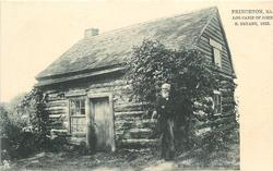 LOG CABIN OF JOHN H. BRYANT, 1833