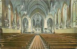 INTERIOR OF CHURCH OF STS. PETER AND PAUL