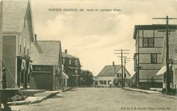 MAIN ST. LOOKING WEST